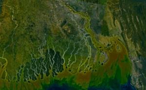 Ganga_river_delta_landsat